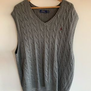 Polo by Ralph Lauren men's knitted vest